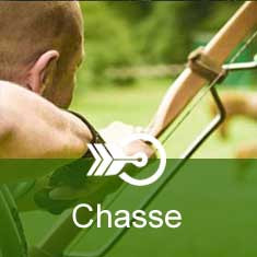 Protege bras chasse