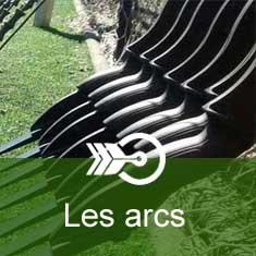 Arcs à poulies chasse