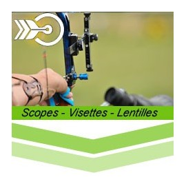 Scopes - visettes et lentilles
