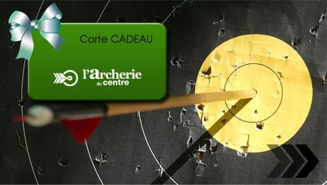 Archerie du Centre - Carte Cadeau